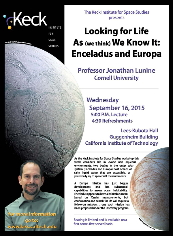 Looking for Life As (we think) We Know It: Enceladus and Europa