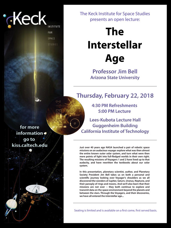 LECTURES | Keck Institute for Space Studies