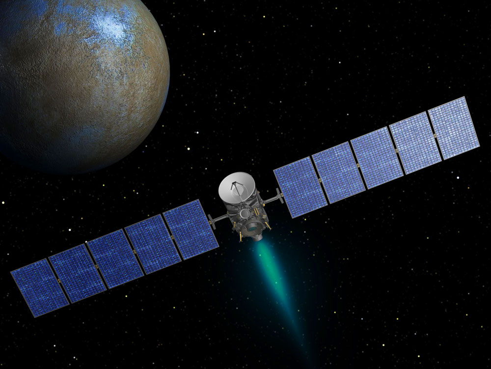 Dawn Mission to the Asteroid Belt