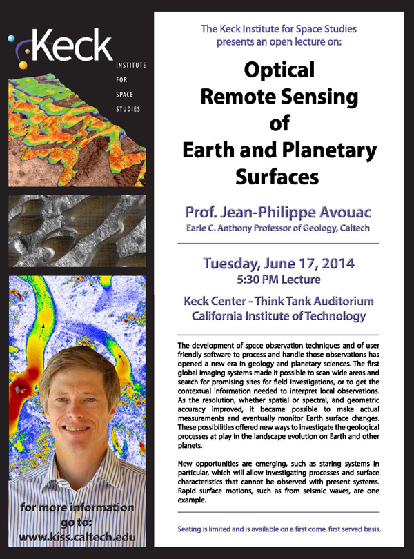 Optical Remote Sensing of Earth and Planetary Surfaces